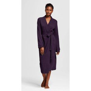 Gilligan And O'Malley Plush Robe, Purple